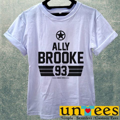 Low Price Women's Adult T-Shirt - Ally Brooke Fifth Harmony design – untees