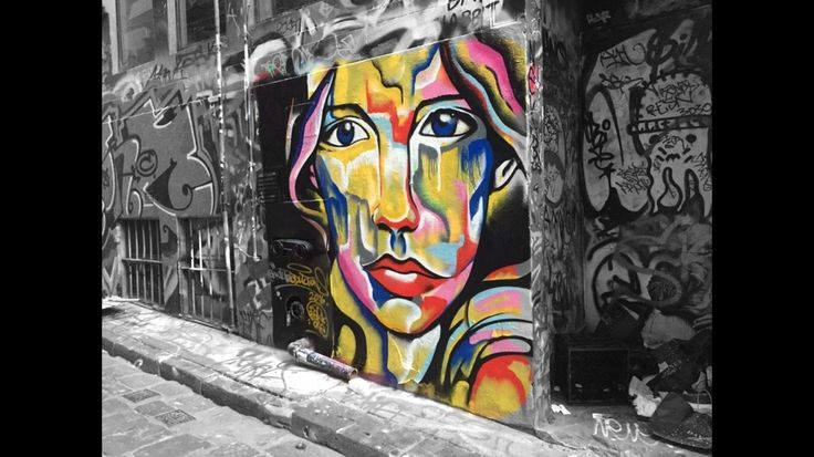 "We are all vibrant, sometimes you just need to scratch the surface a bit. - ""Perception"" by @kilproductions Nov 2016. #hosierlane #streetart #melburn #melbournestreetart #graffiti #aerosolart #streetarteverywhere #perception #montanacans_au #bzerkone #portrait #2016"
