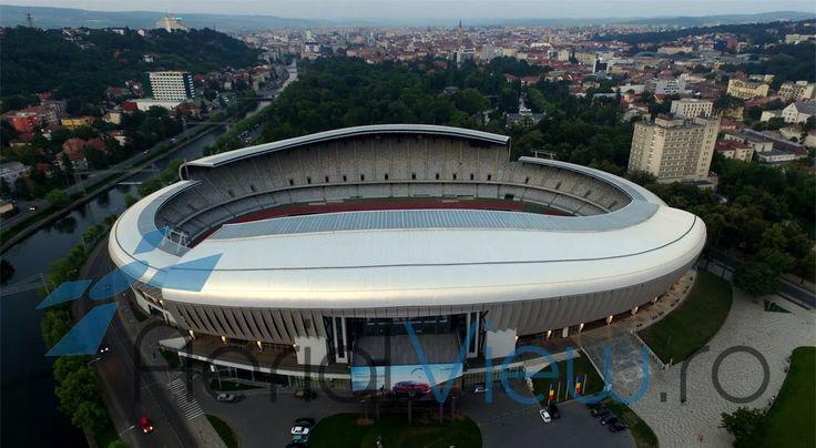 Fotografie: Filmare aeriana cu drona, Stadionul Cluj Arena ! #cluj #clujarena #filmaredrona  http://aerialview.ro/filmare-aeriana-drona-cluj-arena.html