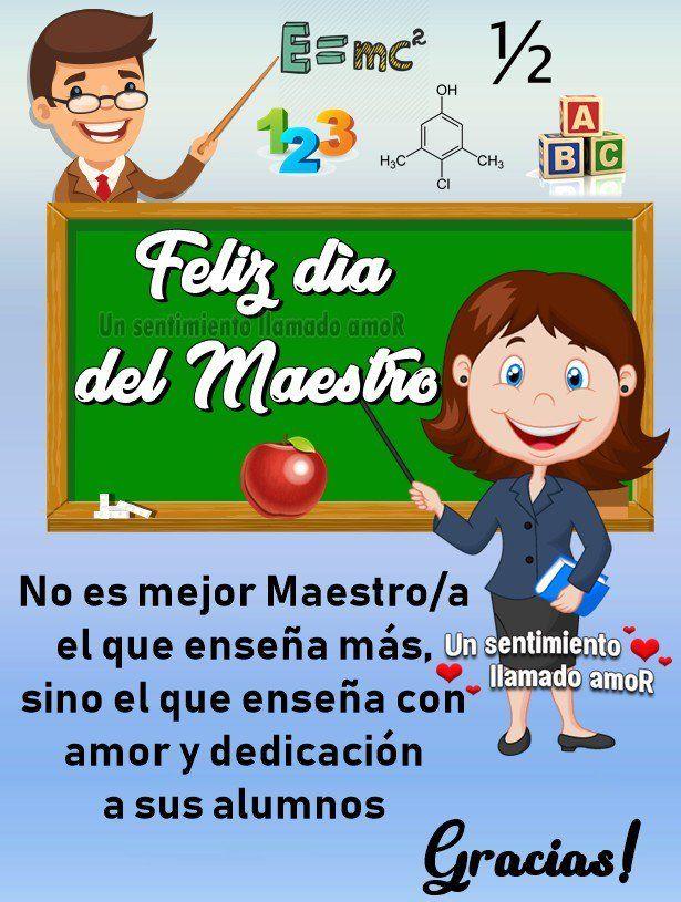 Feliz Dia Del Maestro Gracias School Events Spanish Classroom Feliz