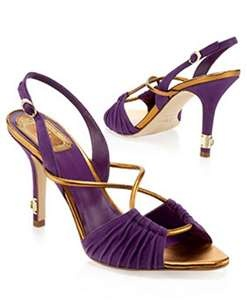 Incredible Purple & Gold Heels