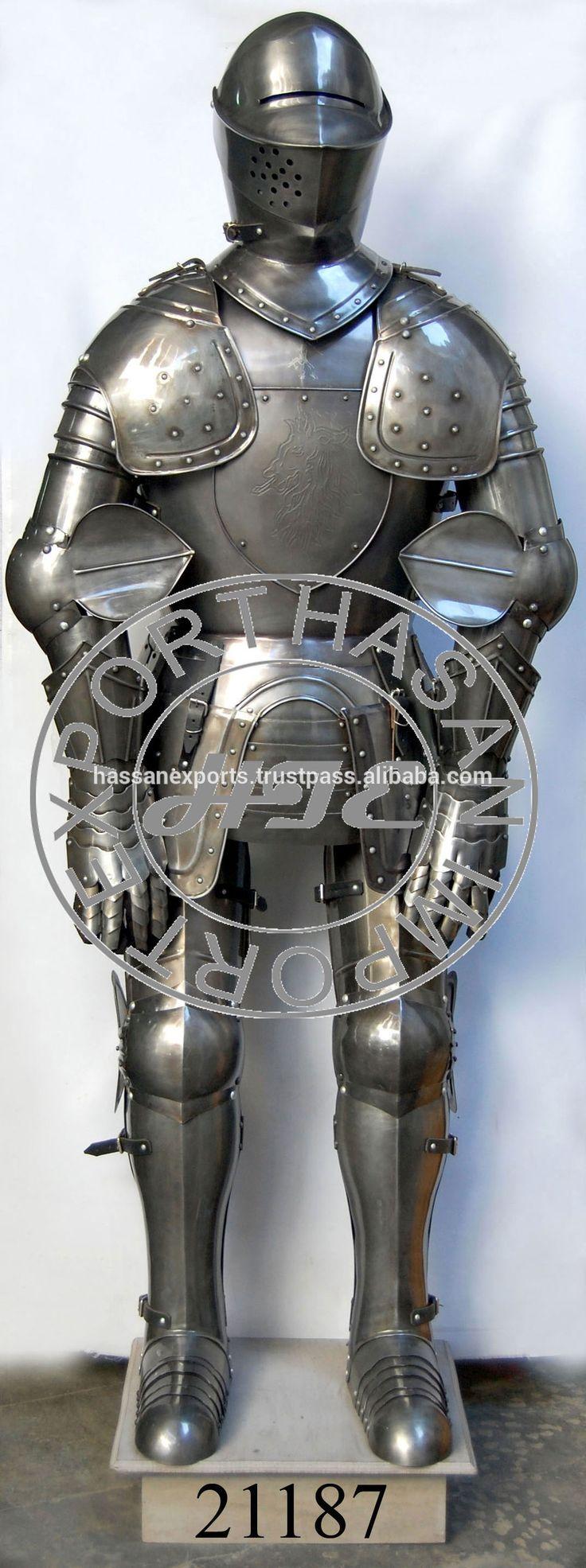 Decorative Royal Design Medieval Knight Full Body Armor, Wearable Body Armor