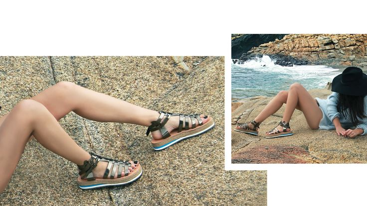 GREY MIRROR sandals. Made in Greece. #livada  find them here: www.esiot.gr