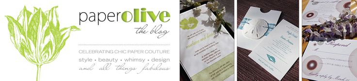 paper olive • the blog: kendra wilkinson & hank baskett wed with custom stationery by paper olive