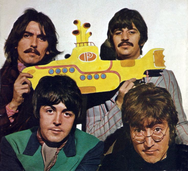 Promotion image for the film Yellow Submarine, 1968