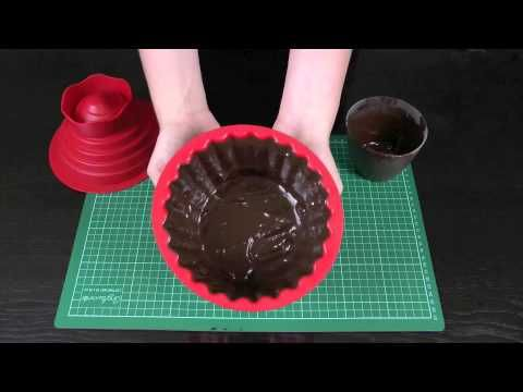 How to Make a Giant Chocolate Cupcake Case / Patty Pan Learn how to make these using our FREE online video tutorials.  Visit YouTube channel MyCupcakeAddiction for these and lots more cupcake and cakepop decorating tutorials!