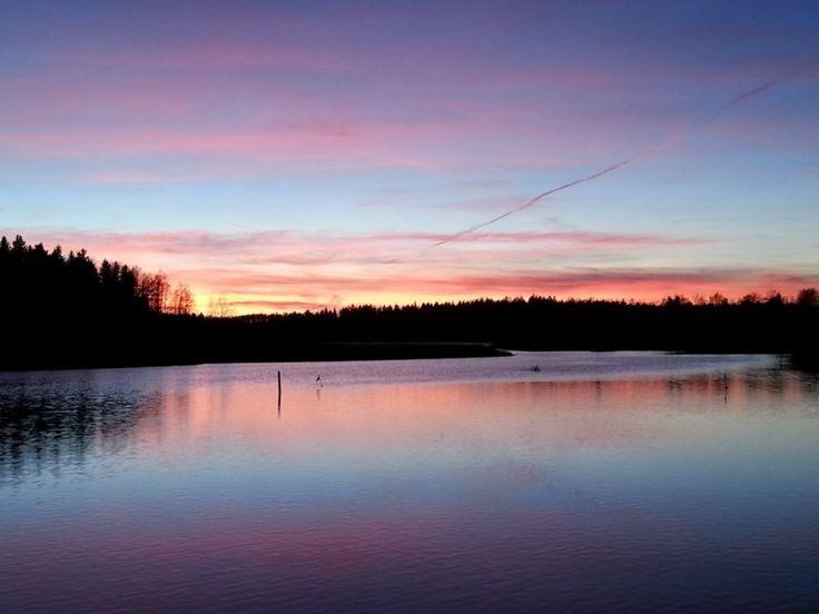 Beautiful sunset, Kotka-Hamina, FINLAND by Lasse Hendricks