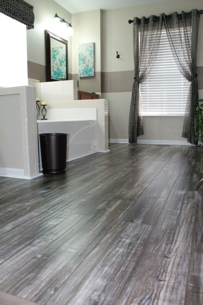 With a beautifully unique & exotic grain pattern that perfectly mimics hardwood, these exquisite laminate floors add luxury and elegance and will refine any room in your home. Click through to order up to 5 free samples - we'll even pay for shipping.