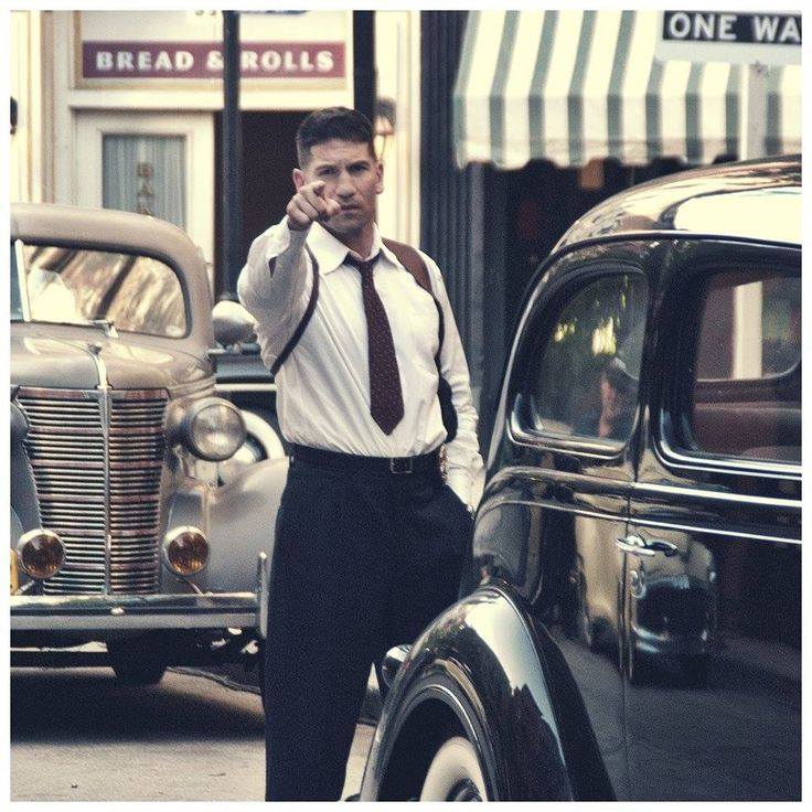 Mob City. Hello jon bernthal, i see you pointing at me :)