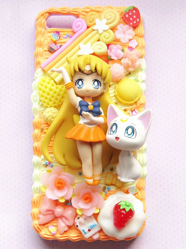 Sailor Venus Sailor Moon 20th anniversary phone case decoden for ...