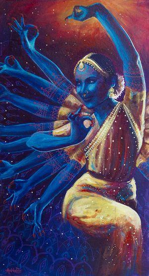 Goddess Nataraj