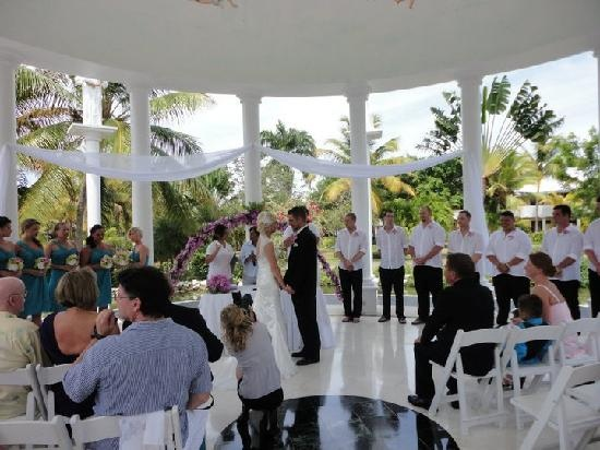 Wedding Ceremony Location Melia Caribe Tropical In 2018 Pinterest Punta Cana And