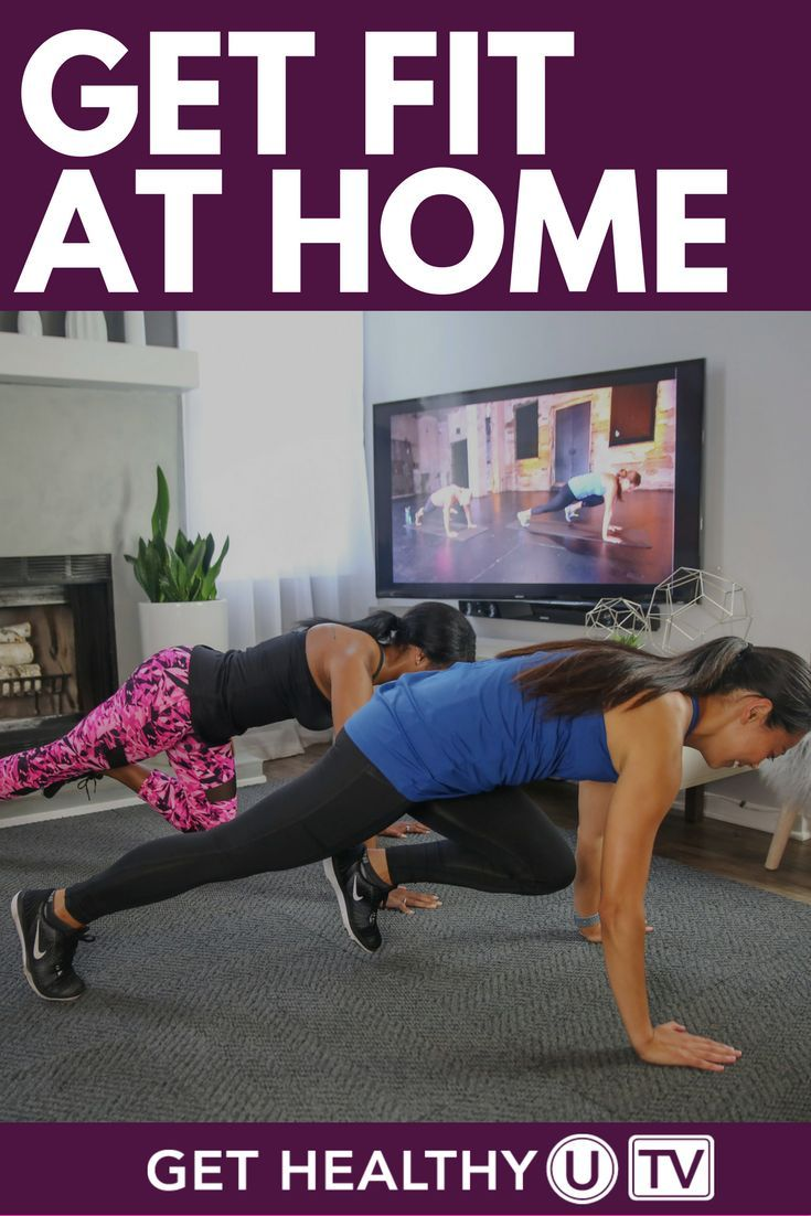 how to get fit in 3 months at home