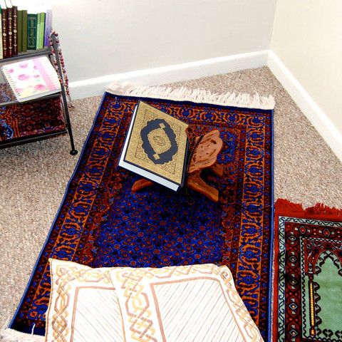 Creating A Reflective Niche In Your Home. Islamic DecorIslamic PrayerHoly  QuranPrayer RoomReading ... Part 53