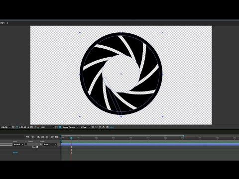 Create a Shape Layer Animated Iris in After Effects - Lesterbanks