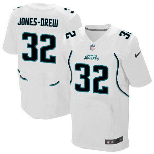 ... Mens Nike Jacksonville Jaguars 32 Maurice Jones-Drew Elite White Jersey  ... 9aa5d8d18
