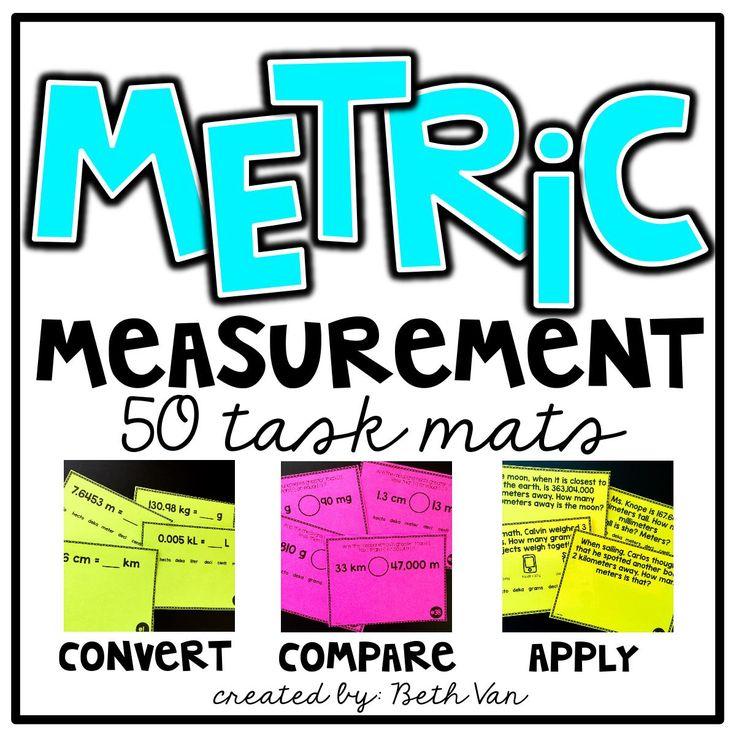 Metric Measurement Activities