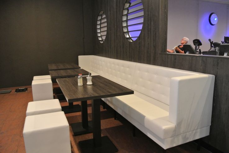 Wellness & Healthclub Newstyle Maarssen ontworpen en ingericht door Kortekaas Interieurs.