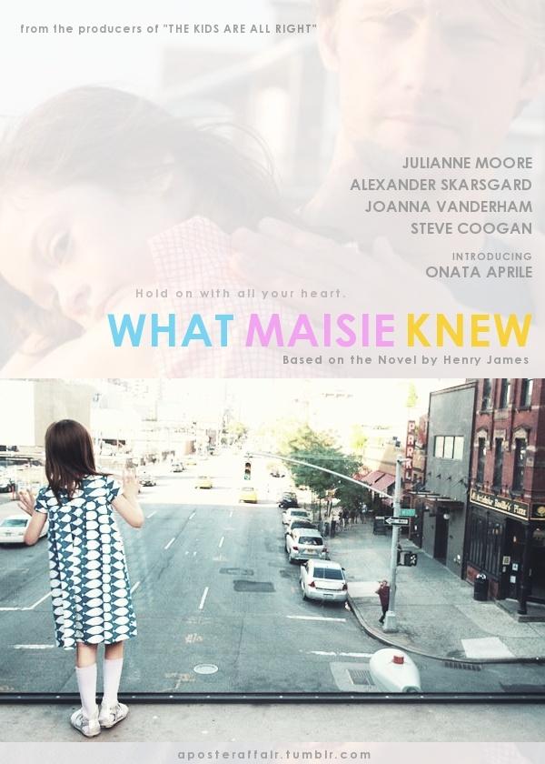 What Maisie Knew (2012)  Director: Scott McGehee and David Siegel  Julianne Moore, Alexander Skarsgard, Onata Aprile