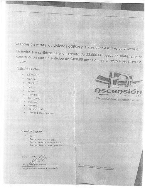 En días pasados en la pagina oficial del gobierno municipal de Ascensión, se dio a conocer una nota aclaratoria, mediante la cual, la administración....