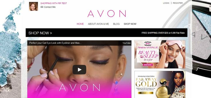 Please don't hesitate to contact me with any questions. Wishing you all the best!  I am proud to be an Avon Representative!