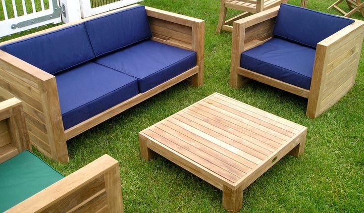 Asmara Teak Garden Furniture Set