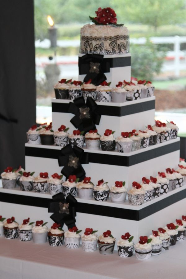 258 Best Black Red White Wedding Ideas Images On Pinterest Amazing Cakes Beautiful And Biscuits