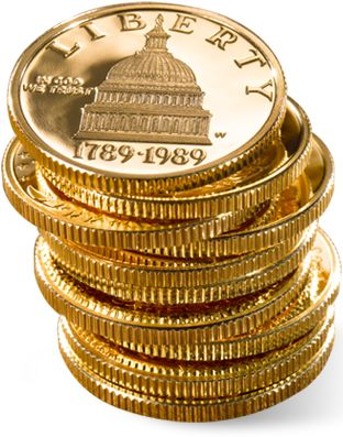 US Gold Coins are a common choice amog investors but the new gold option -in smaller denominations is provong very popular - more info  http://www.22s.com/franksplace/astutegold