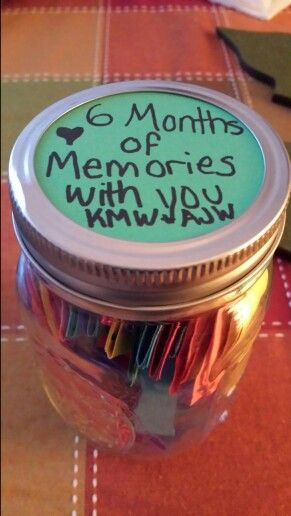 25 Best Ideas About 6 Month Anniversary On Pinterest 6