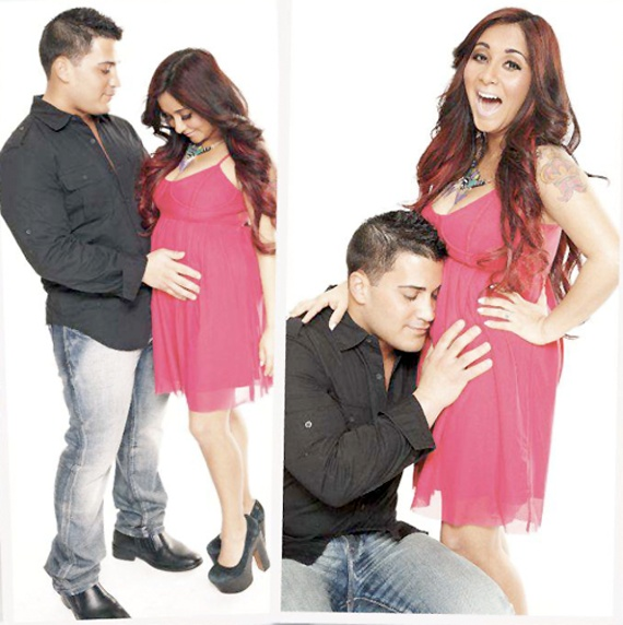 snooki pregnant. still cant believe it but this is too cute (: