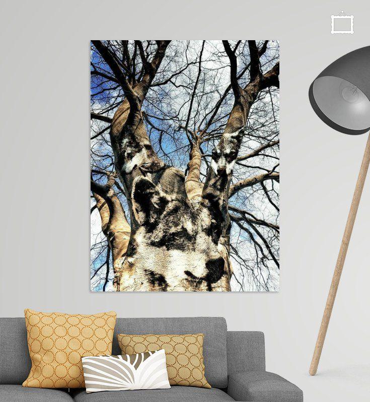 Nieuw in mijn Werk aan de Muur shop: Wolven in de boom  #art #style #vtwdbeurs #vtwdb #wonen #kunst