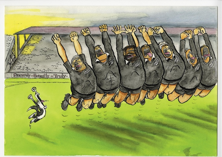"""""""Footrot Flats"""" meets the All Blacks!"""