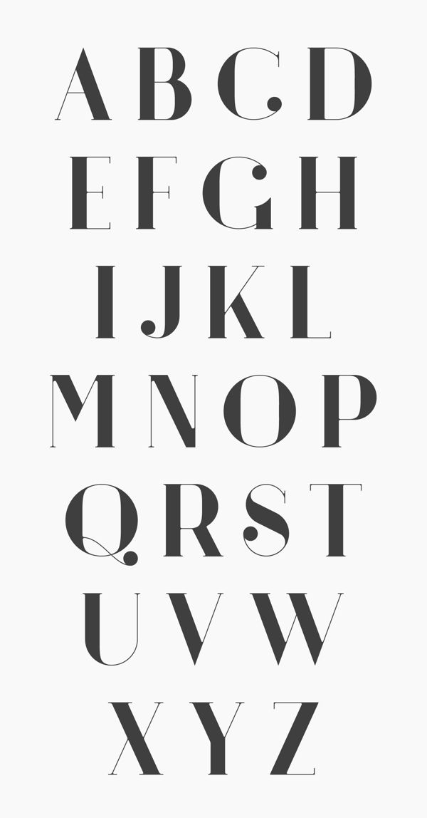 ARGÖ (font) by Anthony James, via Behance