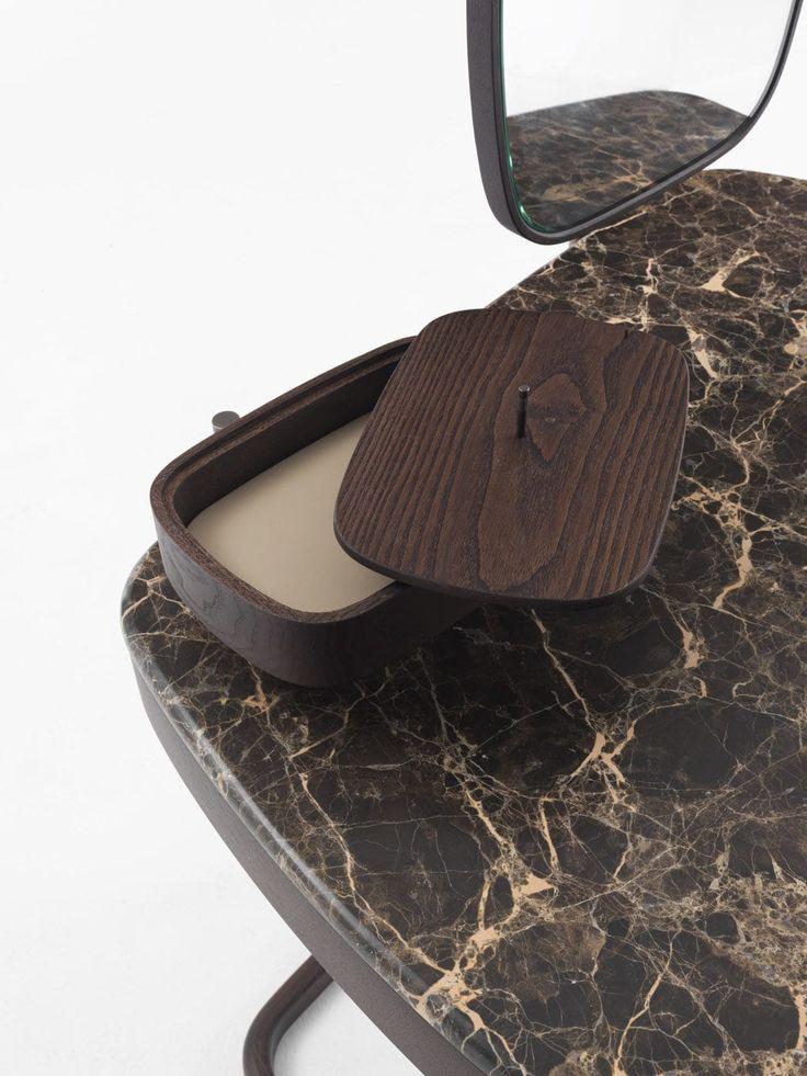 Contemporary dressing table / marble / ash / residential - MASKARA by E. Gallina - Porada