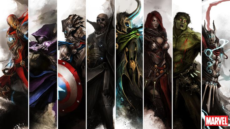 The Avengers by ~theDURRRRIAN on deviantART