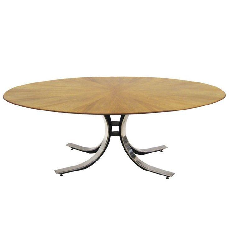 Osvaldo Borsani style dining / conference table