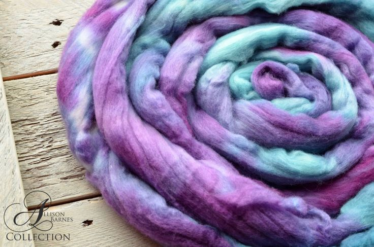 A personal favorite from my Etsy shop https://www.etsy.com/ca/listing/468405380/merino-wool-top-for-spinning-or-felting