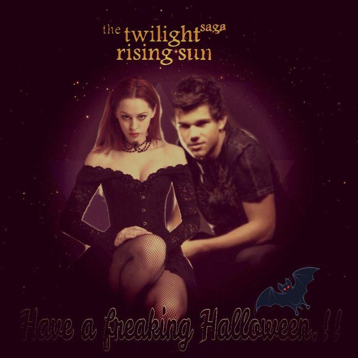 Happy Twilight Rising Sun Halloween.!! by MileyMehak on deviantART