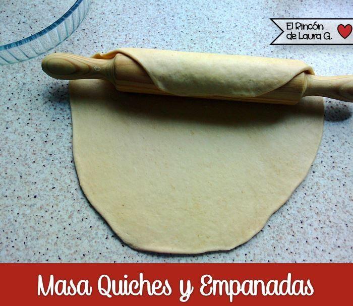 Receta de Masa Quebrada para Quiches y Empanadas   ElRincondeLaura