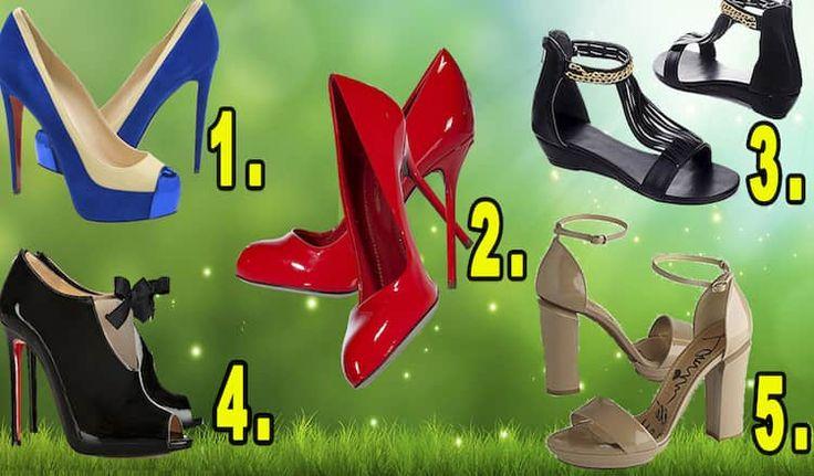 Всем модницам известно, что обувь играет большую роль в создании стильного гармоничного ансамбля. Выберите понравившиеся туфельки и узнайте насколько вы
