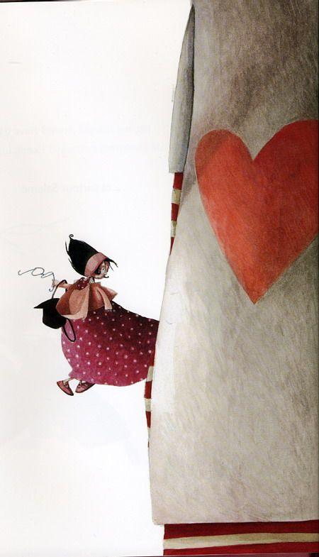 © Rebecca Dautremer l'Amoureux