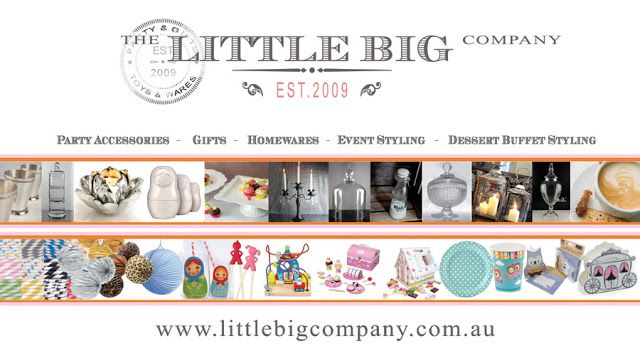 [ THE LITTLE BIG COMPANY ] - East Brunswick Melbourne. Parties, gifts, toys and wares. Can get things such as Apothecary Jars and party decorations.