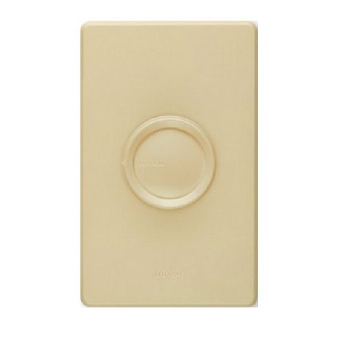 Lutron - D-603P-IV Ivory 3-Way Rotary Dimmer, 600 Watts