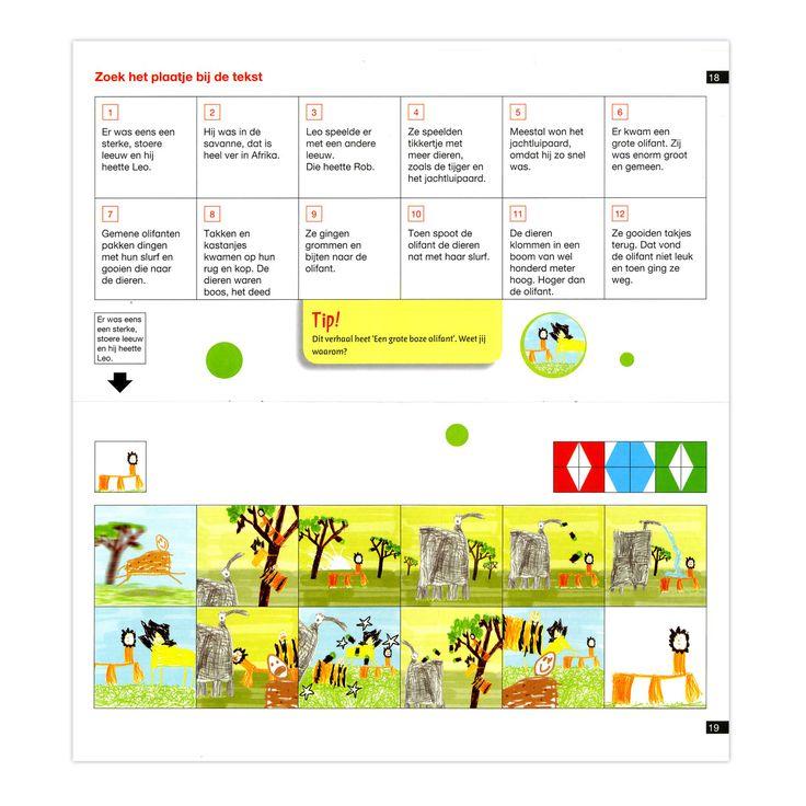 Begr luisteren fase 5: visualiseren verhaaltje. loco, verhaaltje, plaatje