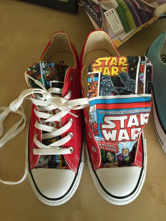 custom-converse-starwars Wmns size 9 These are too cool!!