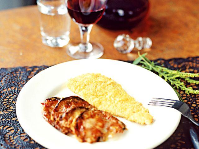 Filetto di pollo alla parmigiana (kock Paolo Roberto)