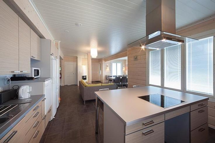 Kitchen in Villa Oskari