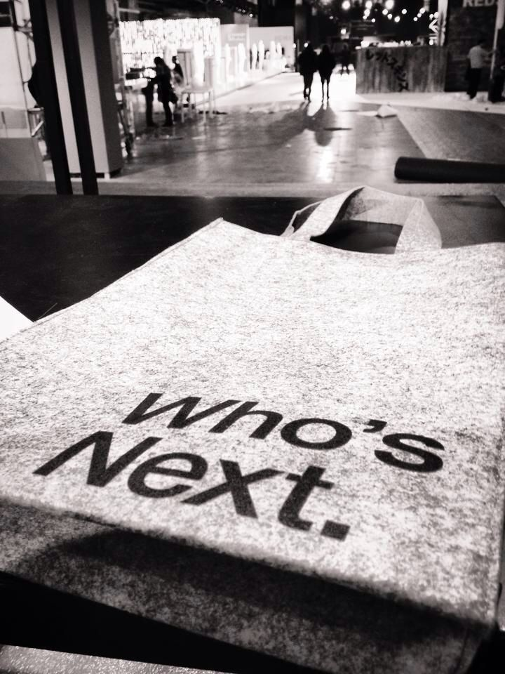 Who's Next '15  www.inimigoclothing.com