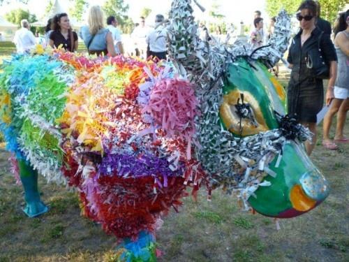 Cow-Parade | L.Tena - Artiste plasticienne