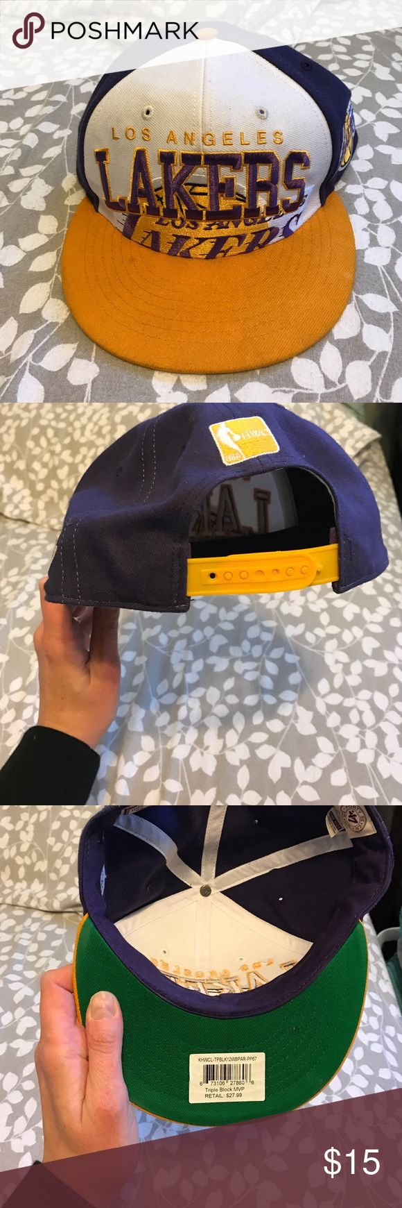 Lakers hat Good condition, hardwood classics Accessories Hats